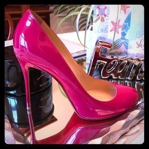 Christian Louboutin FIFI 100 Pink Patent